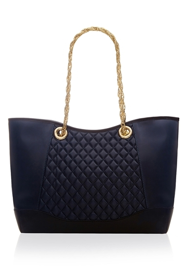 Ghost Tia Trapeze Shopper Navy