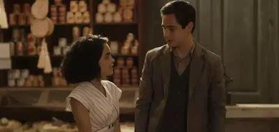 Inês (Carol Macedo) e Carlos (Danilo Mesquita)