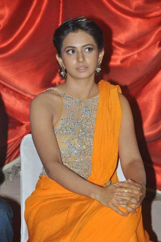 Rakul Preet Singh Latest Photos In Yellow Dress