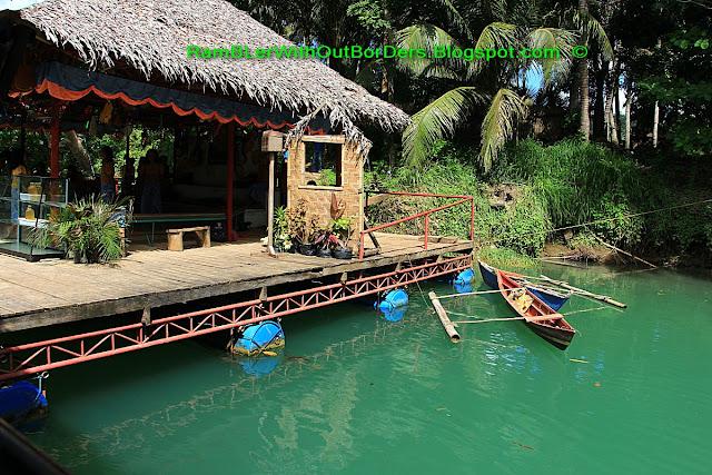 Floating stage, Loboc River, Bohol, Philippines