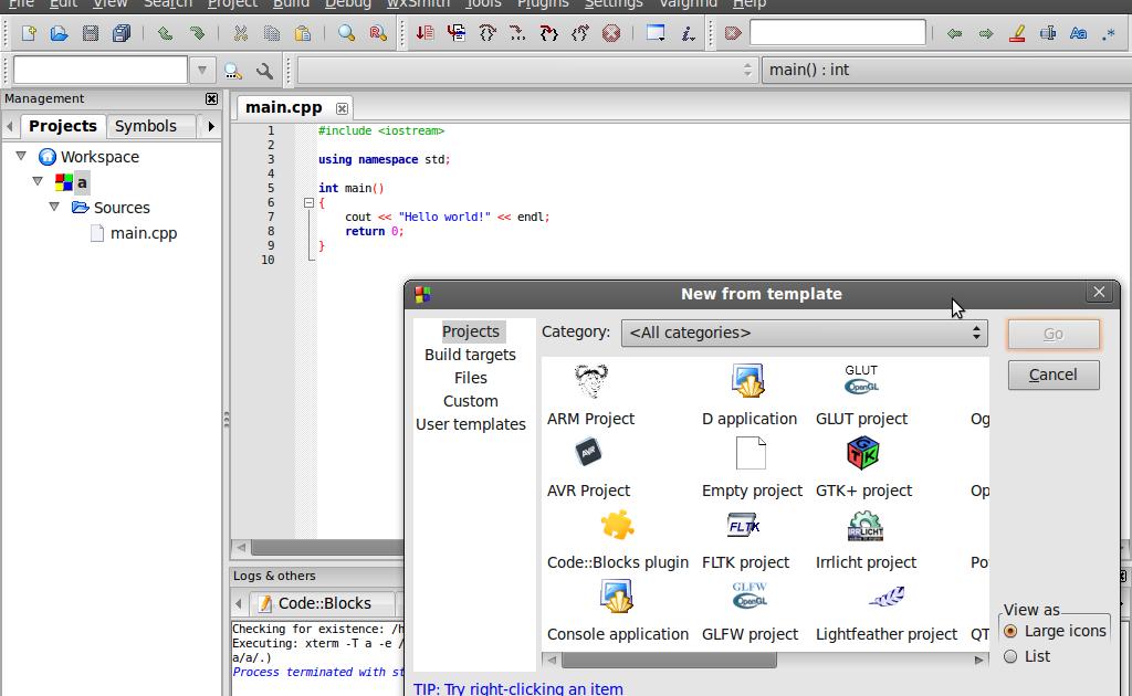 Code::Blocks - The open source, cross platform, free C++ IDE