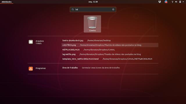 Lixeira no Ubuntu