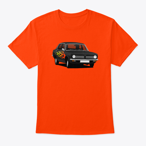 Pimped Morris Marina - 70's  car t-shirt