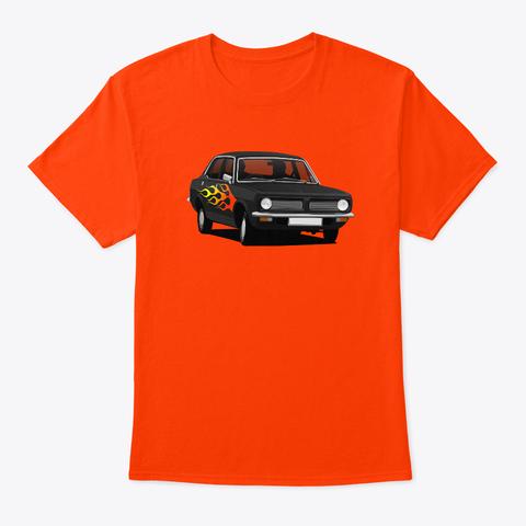 Pimped Morris Marina - 70's  car t-shirt