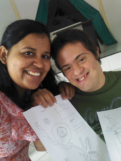 Downidos-desenhos de Vinicius