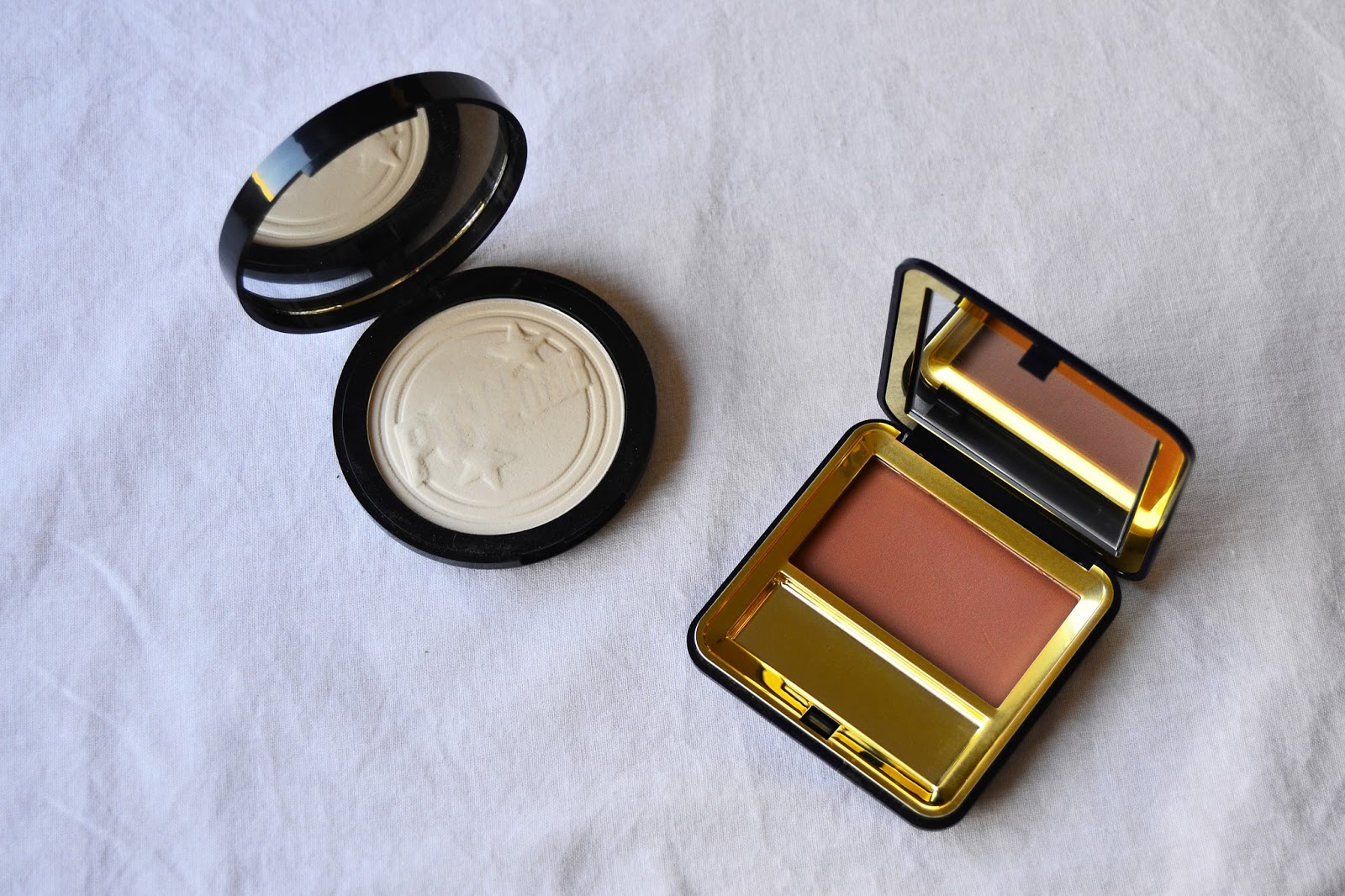 Esté Lauder Blush and Soap&Glory One Heck of a blot