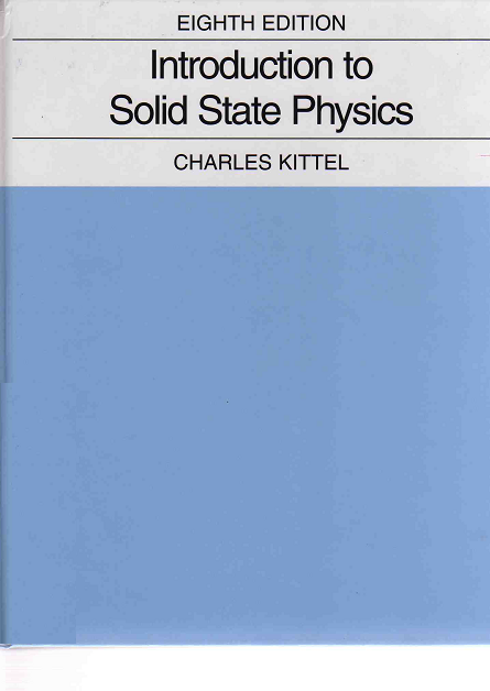 Solid State Physics Kittel Pdf 8th