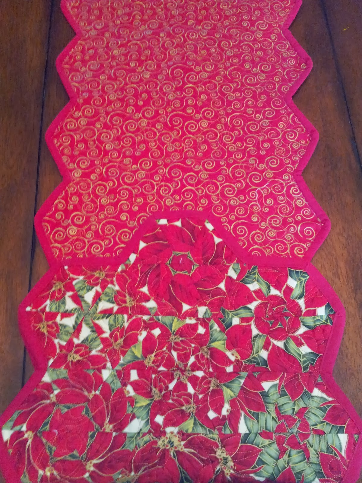 Serena Bean Quilts Christmas One Block Wonder Table Runners