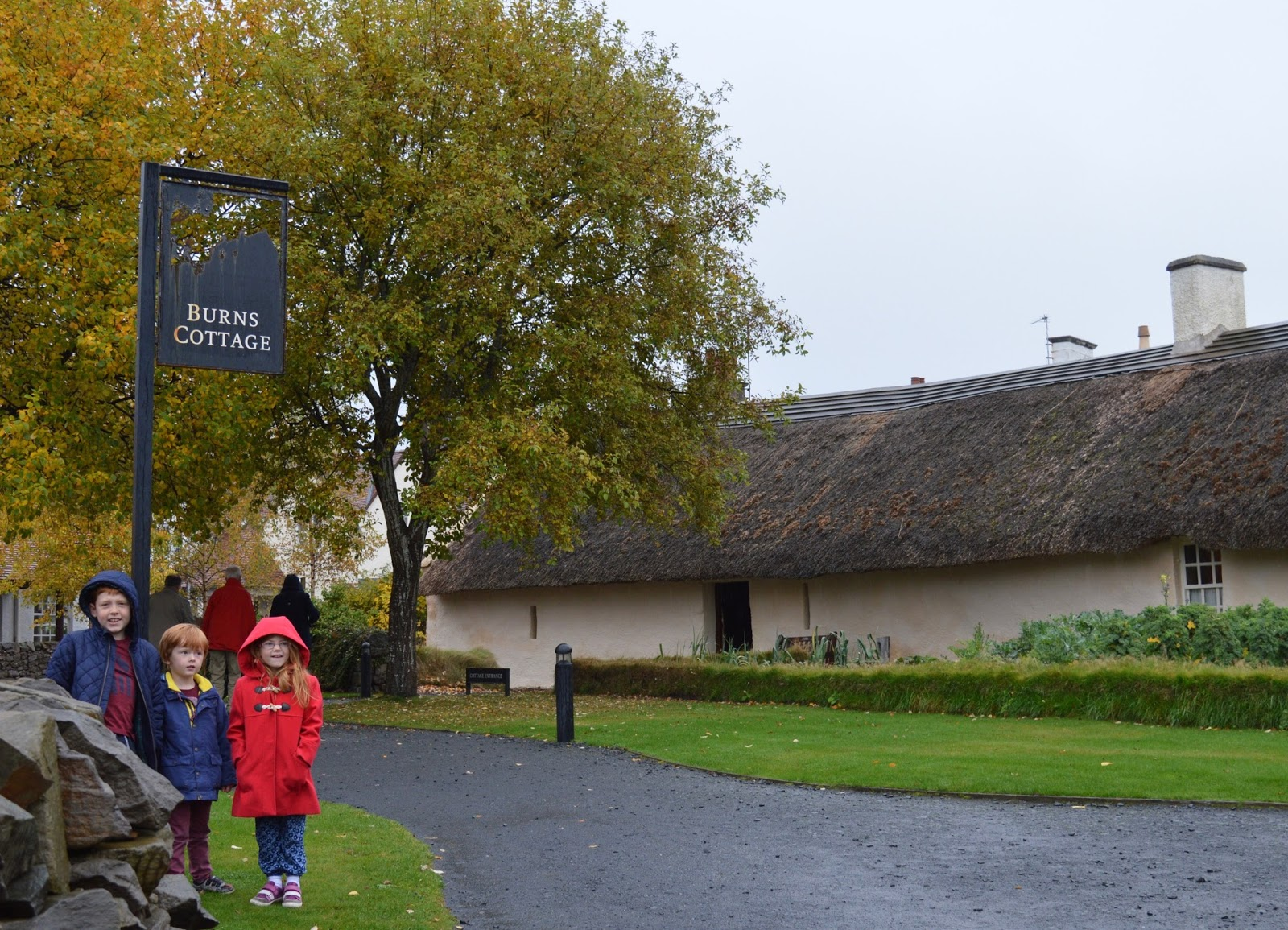 The Robert Burns Museum & Burns Cottage, Ayr | Prices, Location and What to Expect from your visit.  - outside Burns cottage