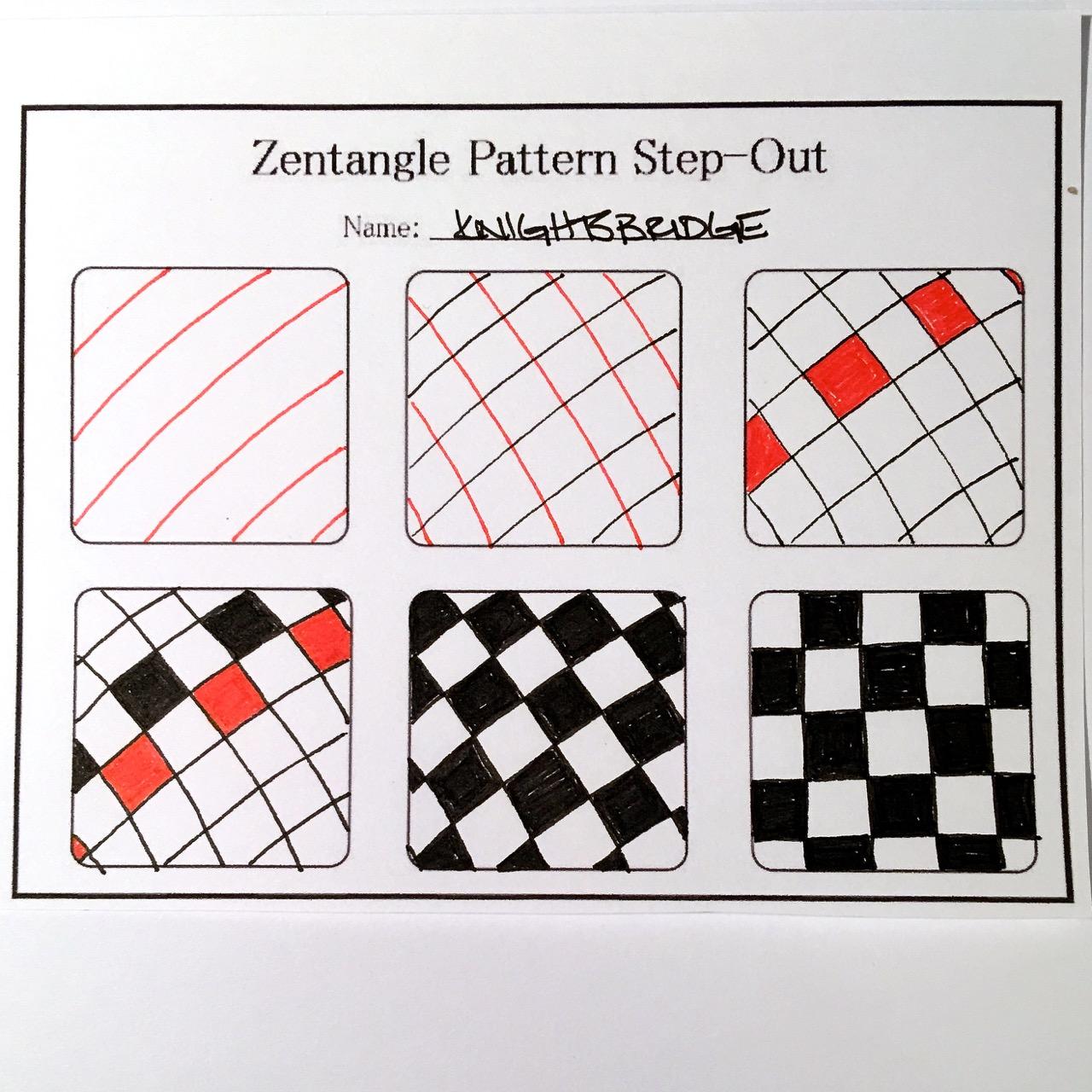 Zentangle Valentine's Heart Series Designs 2016   Always ...