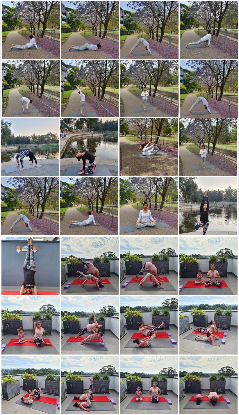 Jhabua News- Petlawad News- पेटलावद की बेटी ऑस्ट्रेलिया में सीखा रही योगासन