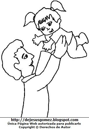 Dibujos Fotos Acrostico Y Mas Dibujos Del Padre Para Colorear