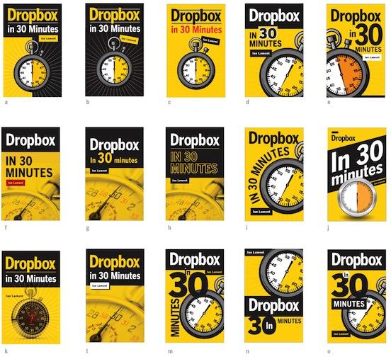 professional ebook design comps