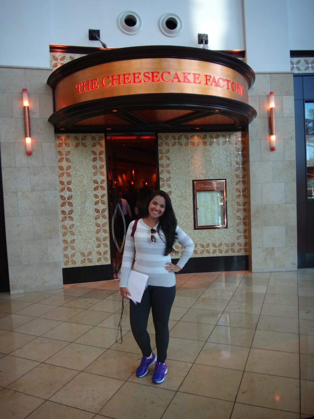 the cheese cake factory - millenia mall - orlando