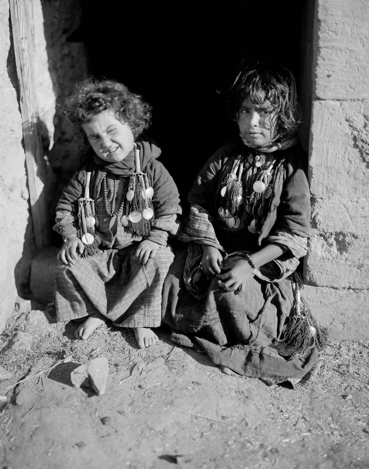 Bedouin kids.