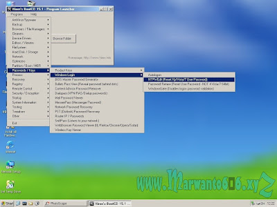 Cara Reset Password Windows Dengan Hiren's BootCD