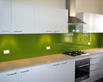 Splash glass protector for the kitchen in New York