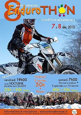 Téléthon 2012 Brout Vernet