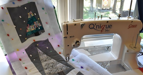 The Free Motion Quilting Project Trying New Threads On