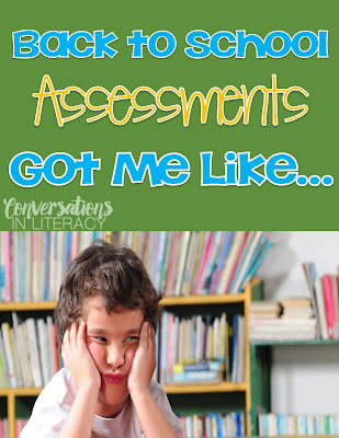 What to use for guided reading assessments