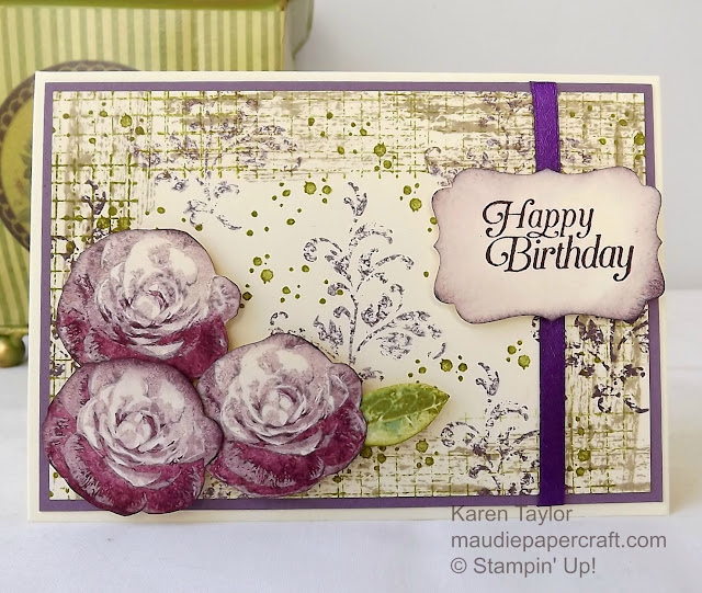 Stampin' Up! Timeless Textures and Picture Perfect card