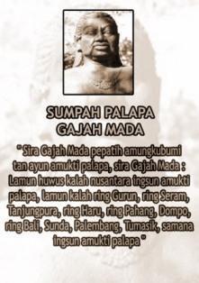 Isi Sumpah Palapa Gajah Mada Bali Backpacker Mada mada is more stronger than mada. bali backpacker blogger