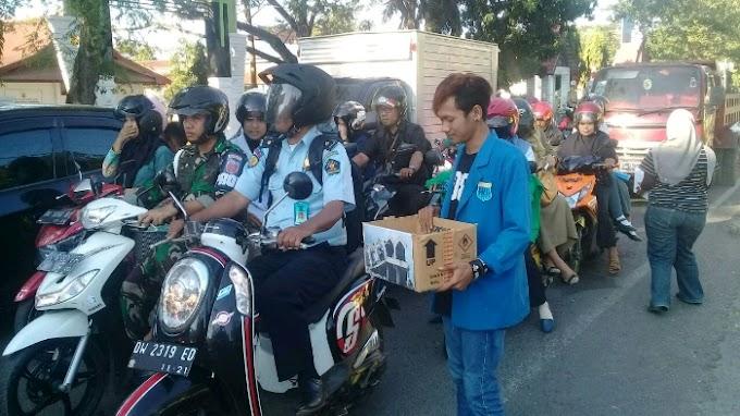 PMII Bone, Galang Dana Korban Gemapa di Lombok