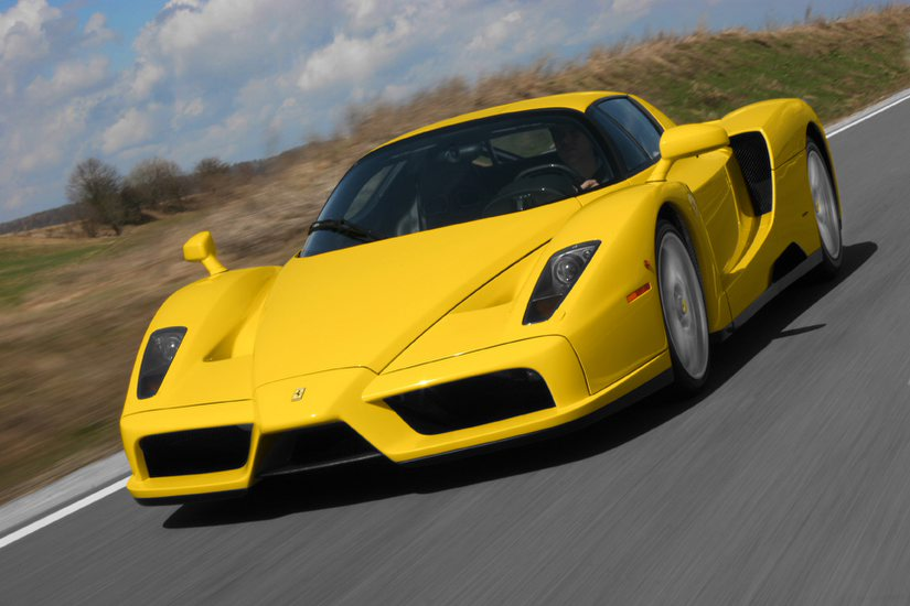 Yellow Ferrari Enzo Wallpaper Car Pictures Pic Wallapers Coll Cars Wallpapers And