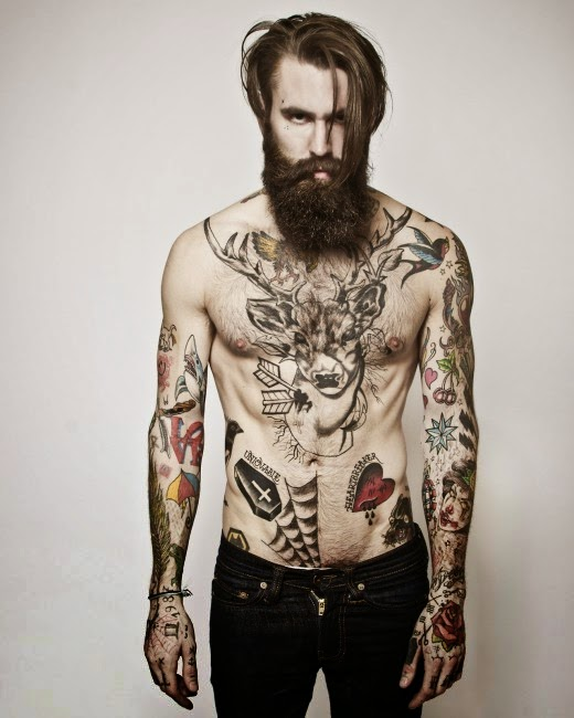 ricki hall body tattoo
