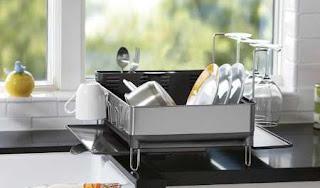 stainless steel dish dryer rack, polder stainless steel dish rack, stainless steel dish rack amazon, stainless steel dish drainer large, stainless steel dish rack tray, stainless steel hanging dish rack