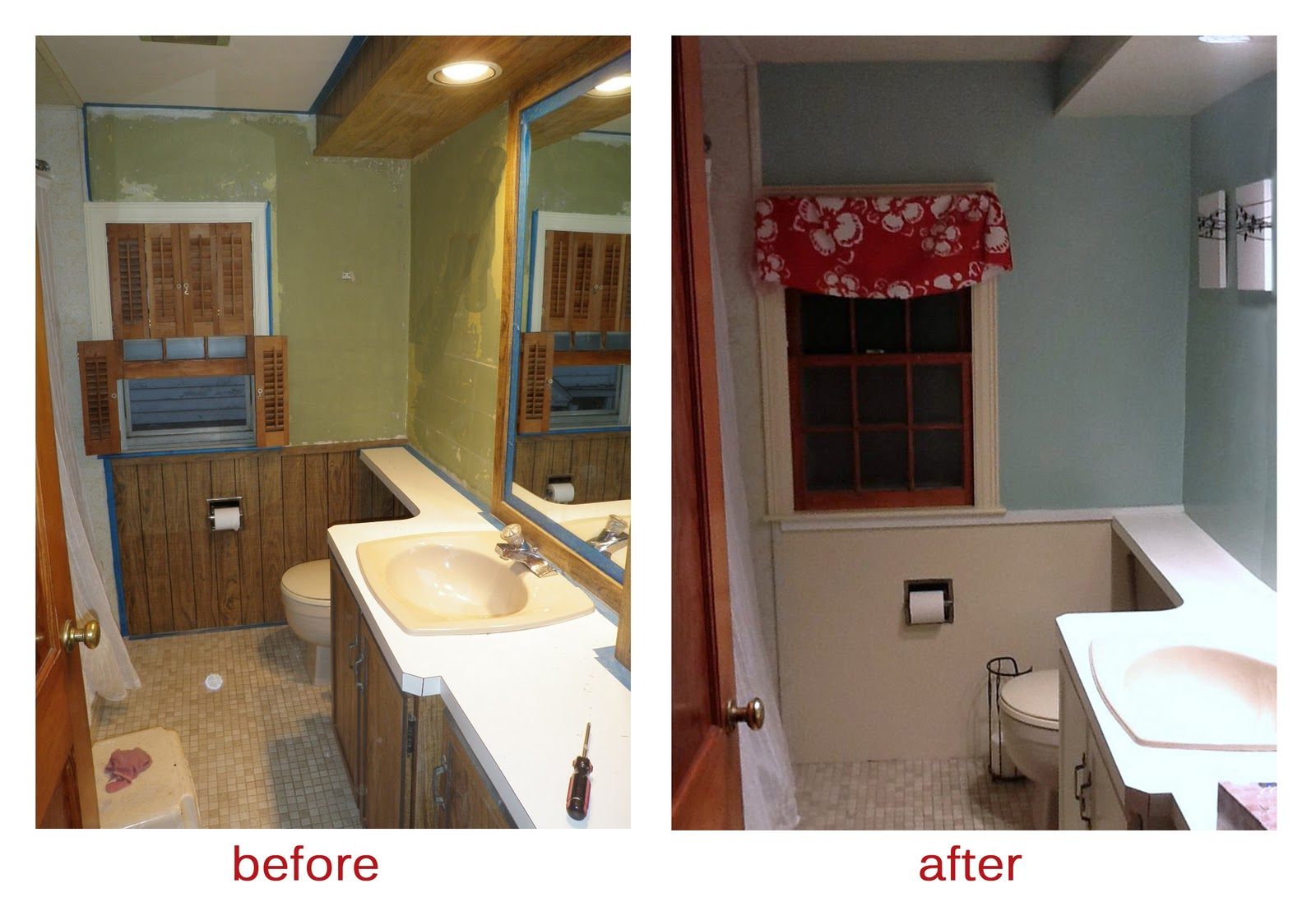 This Life Uncommon Bathroom Makeover