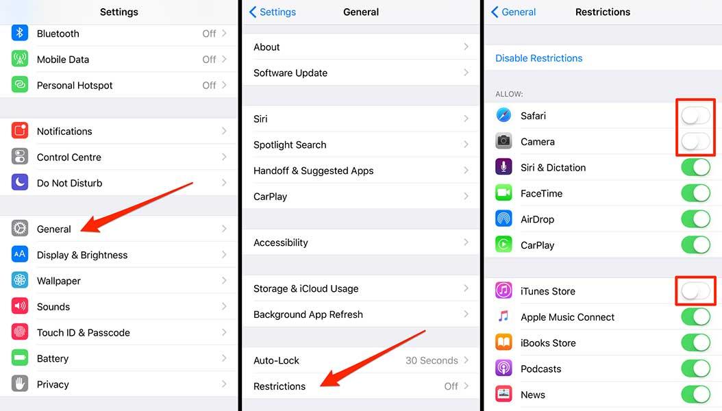 Hasil gambar untuk cara mengunci aplikasi di iphone