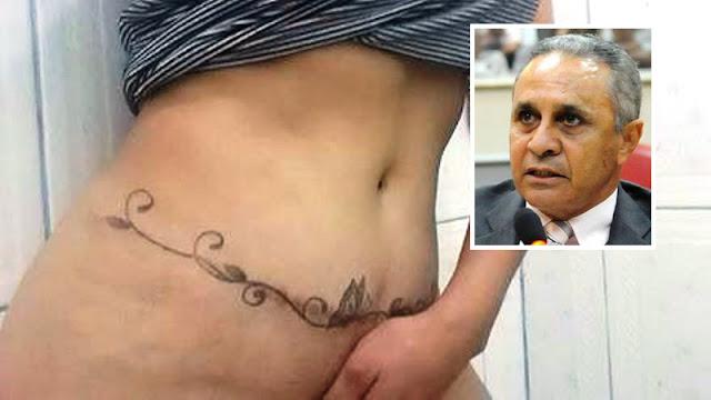 Deputado estadual Ribamar Araújo do PDT de Ronddônia posta foto de mulher nua no facebook