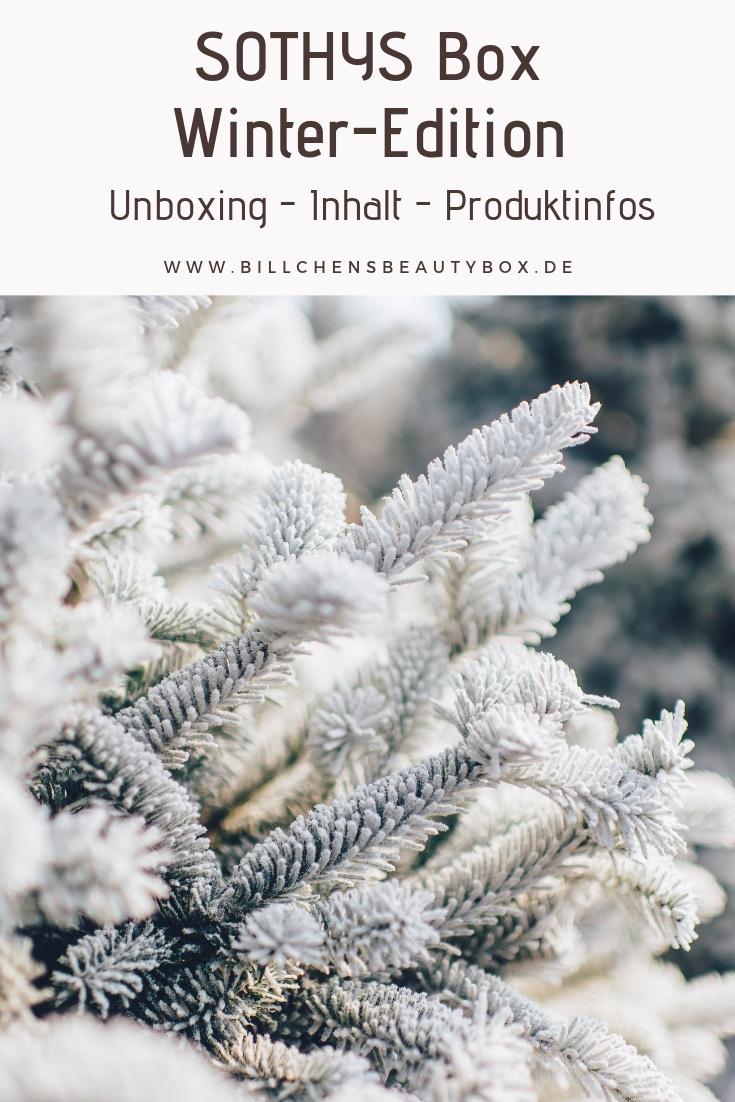 Unboxing Inhalt und Produktinformationen der SOTHYS Box Winter-Edition