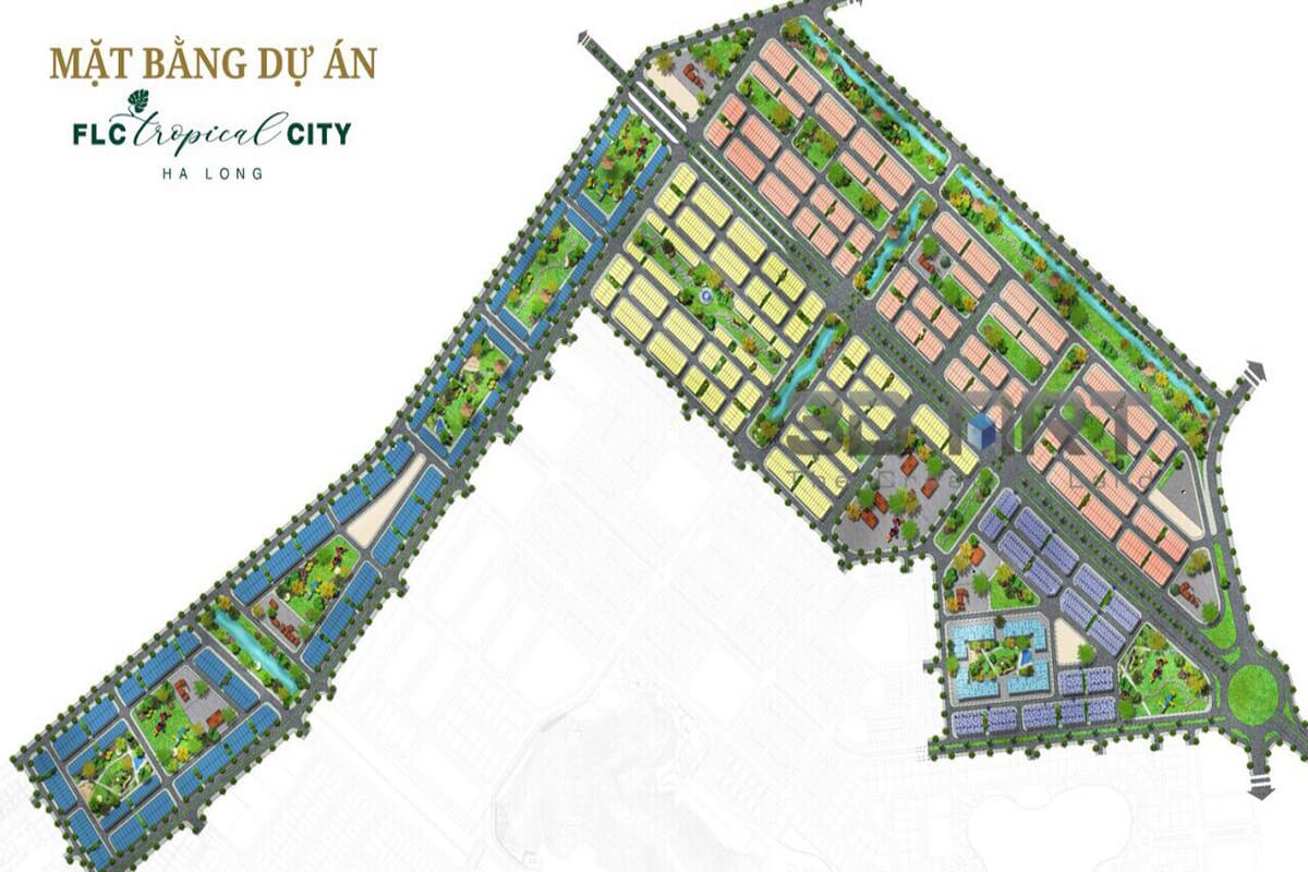 Mặt Bằng FLC Tropical City Cao Xanh Hà Khánh