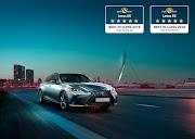 Lexus ES model won two awards