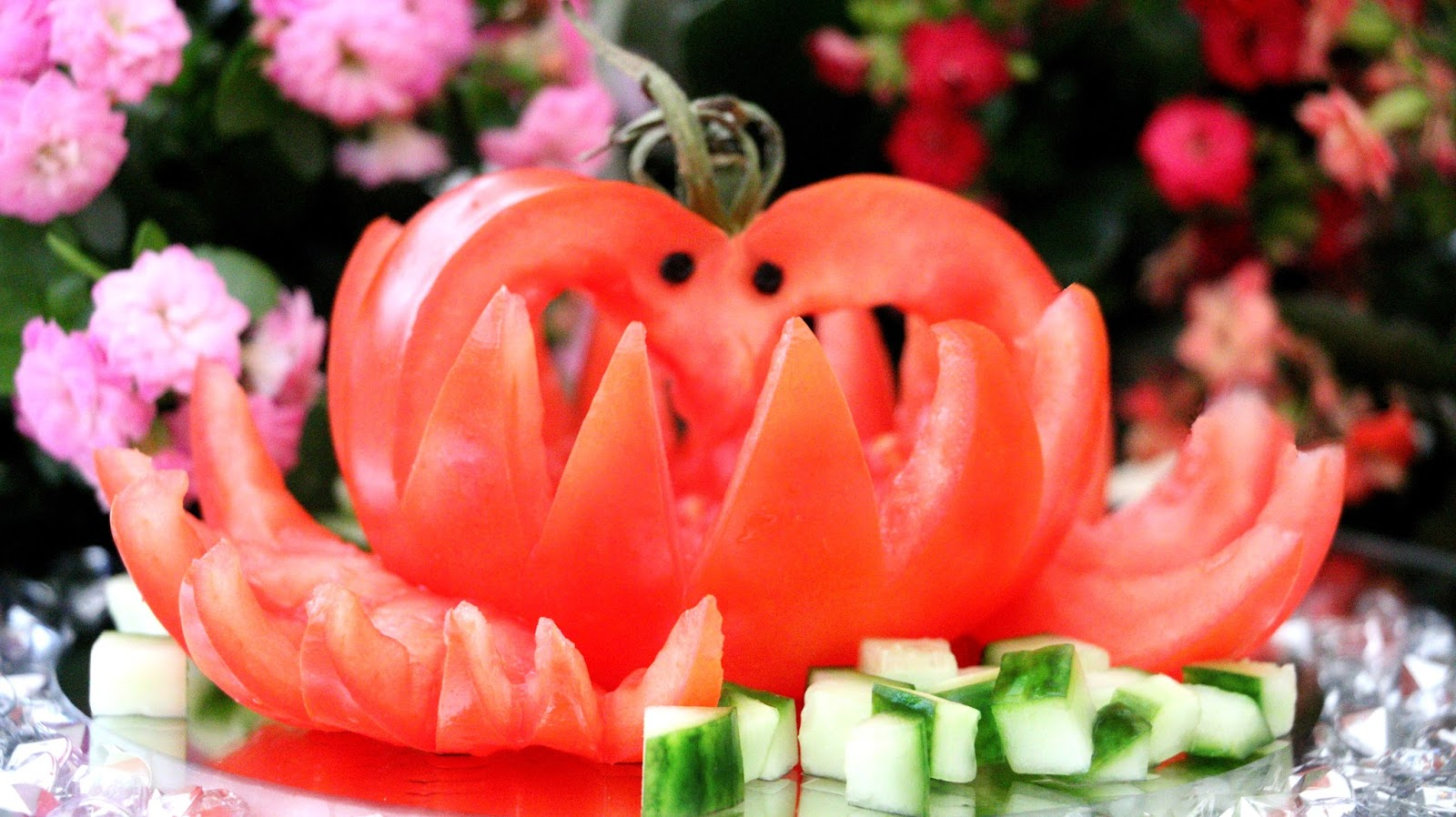 Vegetable Carving With Tomato Josephine's...