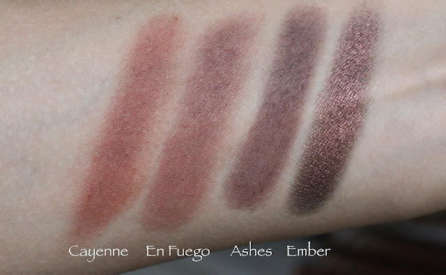 UD Naked Heat swatch
