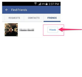 How to Unfriend Someone on Facebook Mobile