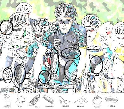 Cycle race Hidden Objects Brain Teaser Solution