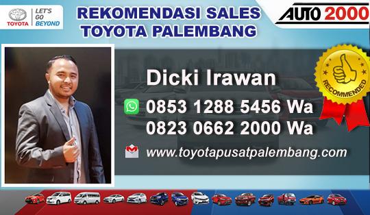 Rekomendasi Sales Toyota Palembang Sumatra Selatan