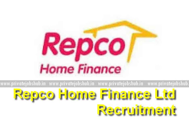 Repco Home Finance Ltd Recruitment