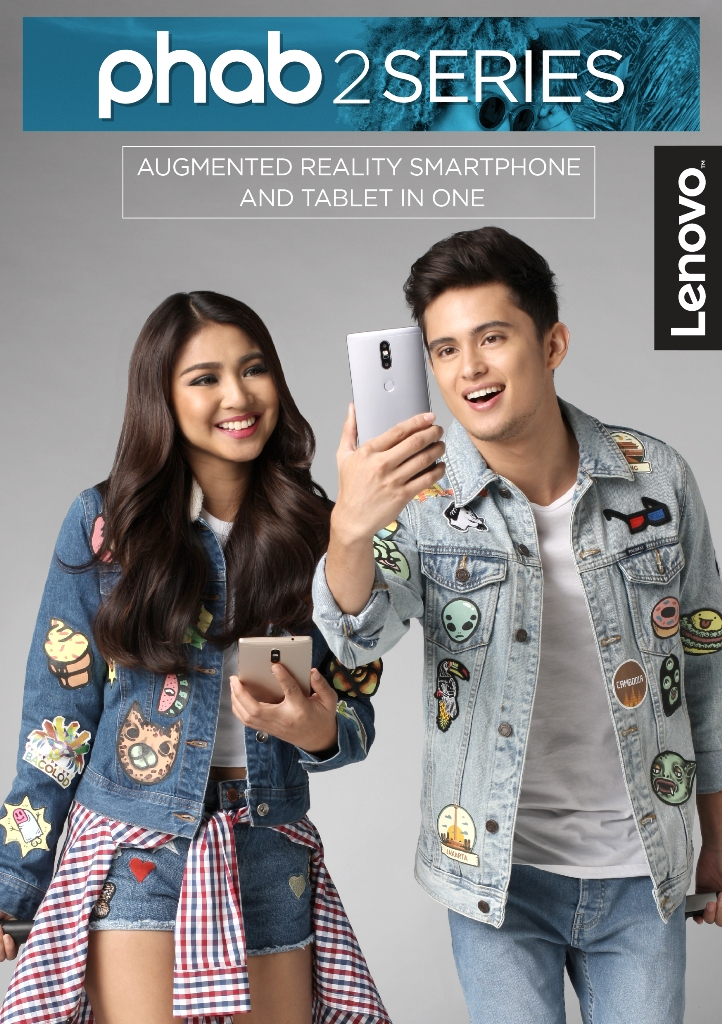 JaDine officially joins the Lenovo family