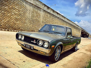 MOBIL ANTIK MURAH : Datsun 620 long th77. 1300cc