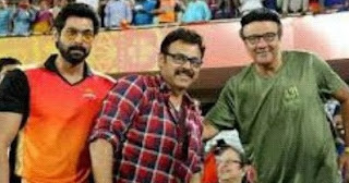 Venkatesh And Rana Daggubati At IPL 2016 Final Match In Bangalore Photos