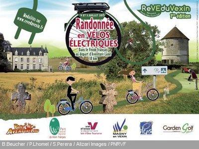 Randonnée-vélo-Vexin