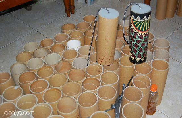 usaha, spring drum