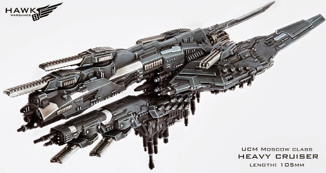 Dropfleet commander heavy cruiser