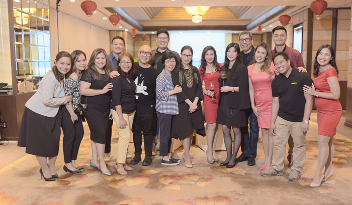 Davao media dinner hosted by Marco Polo Hong Kong Hotels   at the Jade Room of  Marco Polo Davao