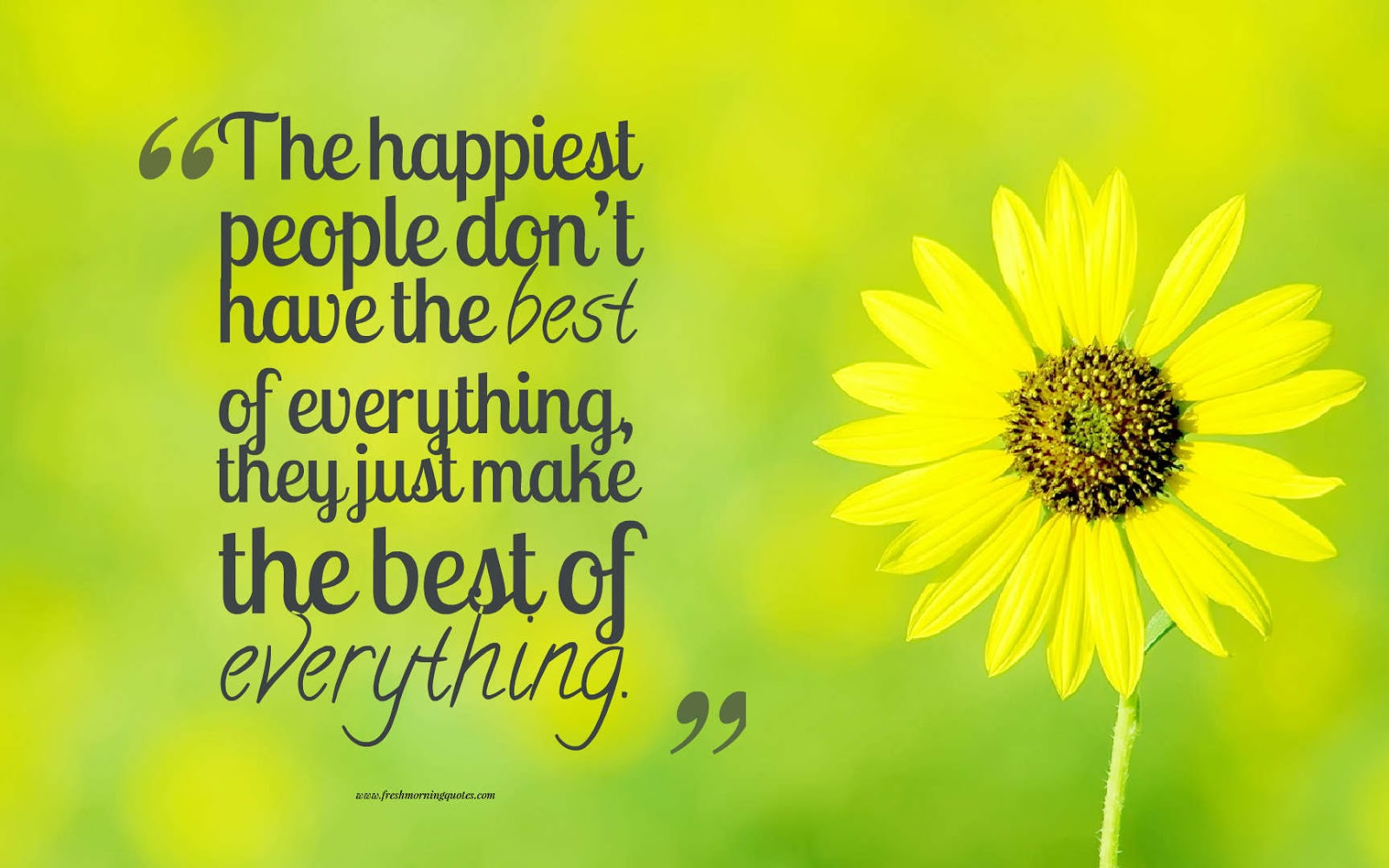 The happiest people positive morning quotes